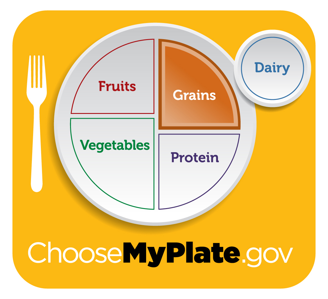 all about the grains group choose myplate